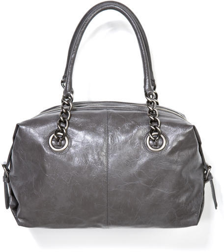 Chain Handle Satchel