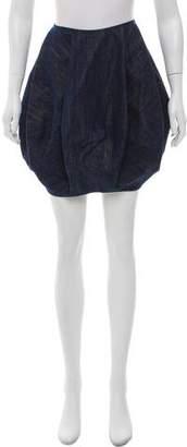 Alaia Denim Mini Skirt
