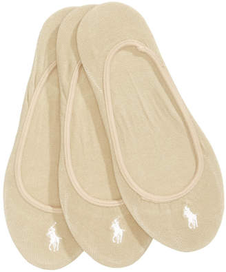 Polo Ralph Lauren Women's 3-Pk. Ultra-Low No- Show Liners