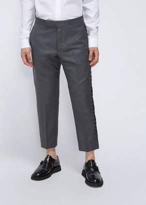 Thom Browne Button Up Side Seam Trouser