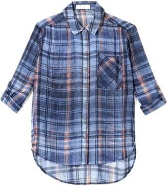 Vince Camuto Plaid-print Shirt