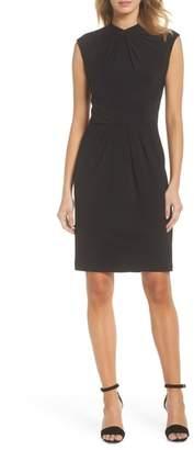 Adrianna Papell Matte Jersey Sheath Dress
