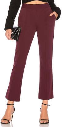 Diane von Furstenberg Mid Rise Cropped Bootcut Pant