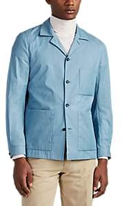 P. Johnson Men's Cotton Chambray Shirt Jacket - Lt. Blue