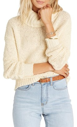 Billabong 'Here We Are' Turtleneck Sweater $64.95 thestylecure.com