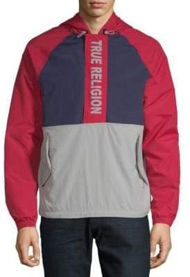 True Religion Colorblock Hooded Jacket