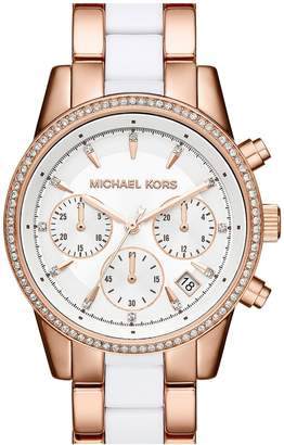 Michael Kors 'Ritz' Chronograph Bracelet Watch, 37mm