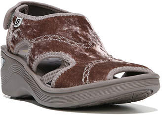Bzees Drama Athleisure Wedge Sandals Women's Shoes
