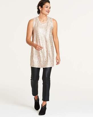 c748875a756 Plus Size Sequin Tops - ShopStyle UK