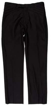 Christian Dior Slim Wool-Blend Pants