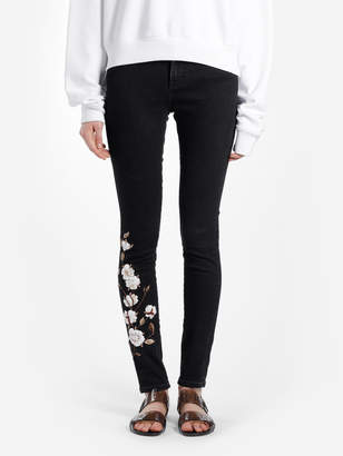 85dd3fd4c8bea Off-White Off White C O Virgil Abloh WOMEN S BLACK DIAGONALS SKINNY JEANS  WITH