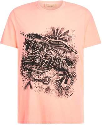 Burberry Graffiti Knight T-Shirt