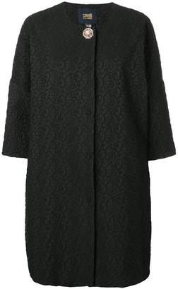 Class Roberto Cavalli three-quarter sleeve coat