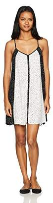 Volcom Junior's Womens' Mix A Lot Allover Print Cami Dress, M