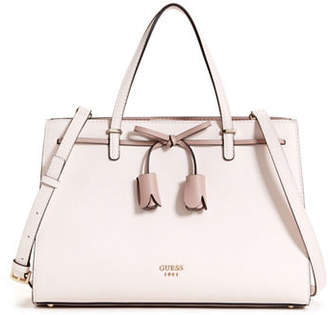 GUESS Leila Girlfriend Faux Leather Satchel