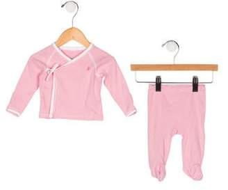 Ralph Lauren Girls' Striped Pajama Set