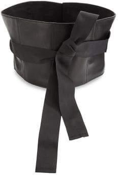 Brunello Cucinelli Leather Corset Belt