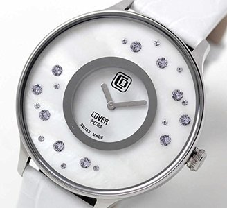 Cover コヴァー TREND PIEDRA STARS Co158.08 ホワイト 女性用腕時計【正規輸入品】
