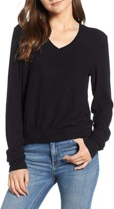 Wildfox Couture V-Neck Pullover
