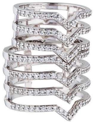 Paige Novick Phyne by 14K Cristina Double Flex Ring