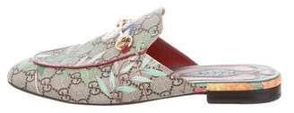 Gucci Princetown GG Canvas Mules