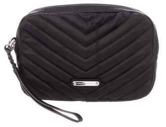 Rebecca Minkoff Quilted Woven Wristlet
