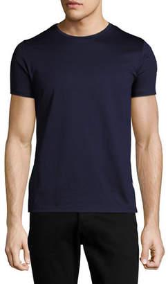Moncler Tricolor Side-Stripe T-Shirt