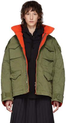 Undercover Khaki Crinkled Jacket