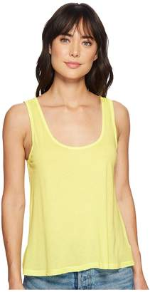 Splendid Vintage Whisper Scoop Tank Top Women's Sleeveless