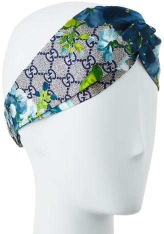 GucciGucci GG Blooms Silk Headband