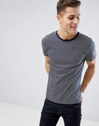 Next Stripe T-Shirt In Navy