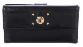 Marc Jacobs Smooth Leather Dual Compartment Wallet