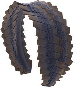 Jennifer Ouellette Pleated Grosgrain Headband