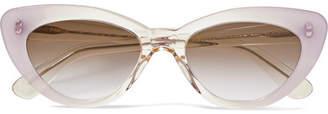 Illesteva Pamela Cat-eye Acetate Sunglasses - Lilac