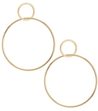 Women's Jules Smith Circle Hoop Earrings $40 thestylecure.com