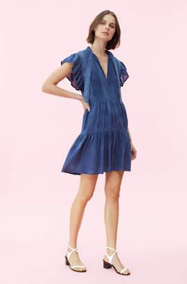 Rebecca Taylor La Vie Tissue Denim Dress
