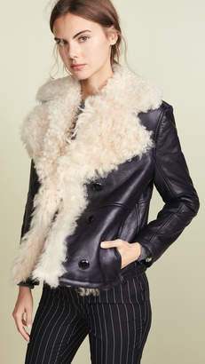 Frame Shearling Coat