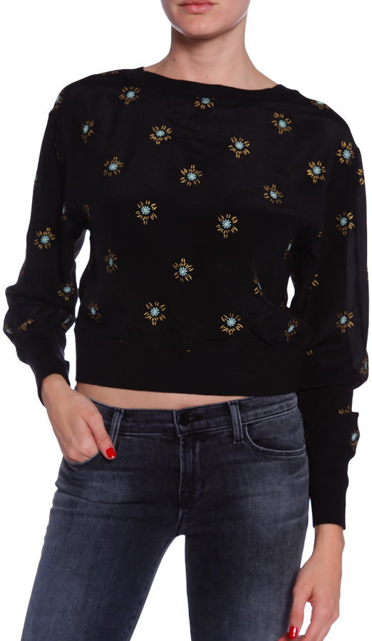 PAM & GELA Cropped Sweater