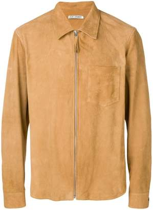 Our Legacy suede shirt jacket