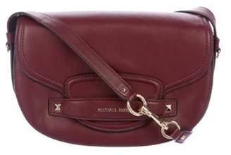 Michael Kors Leather Crossbody Bag gold Leather Crossbody Bag