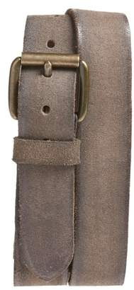 John Varvatos Suede Belt