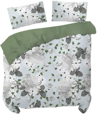 Malibu Home Collection 3-Piece Floral-Style Comforter Set