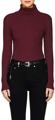 RE/DONE Women's Rib-Knit Cotton Bodysuit