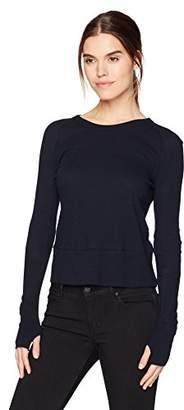 Enza Costa Women's Cashmere Long Sleeve Raglan Top