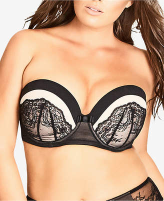 City Chic Trendy Plus Size Eve Multiway Bra