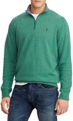 Polo Ralph Lauren Luxury Half-Zip Jersey Pullover