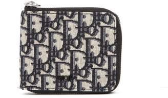 Christian Dior Zipped Logo Wallet