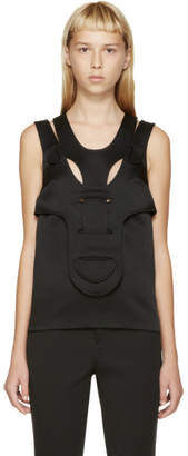 Christopher Kane Black His/Her Tank Top