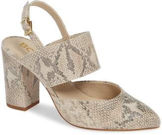 BC Footwear Value Slingback Pump