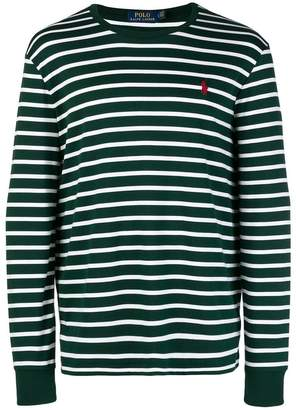 Polo Ralph Lauren stripe long-sleeve sweater